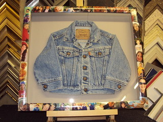 Framed Child's Jacket - front | by bespokeframing