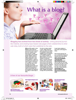 Popular Crafts Issue 10 What is a Blog | by Beeper Bebe