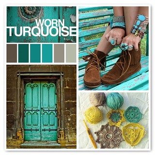 Fall into turquoise images palette jewelry door for Fall into color jewelry walmart