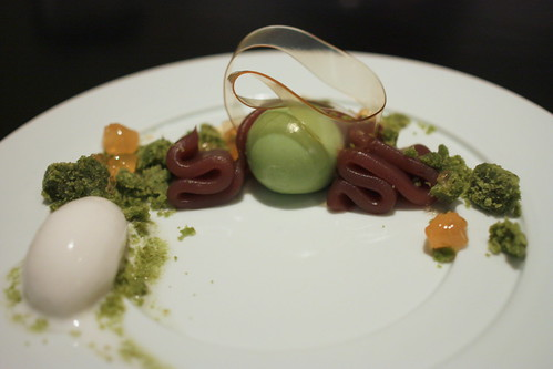 Lychee, Red Bean, Matcha Custard | by Kung Food Panda