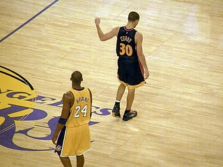 Kobe Bryant and Stephen Curry | by MattBritt00