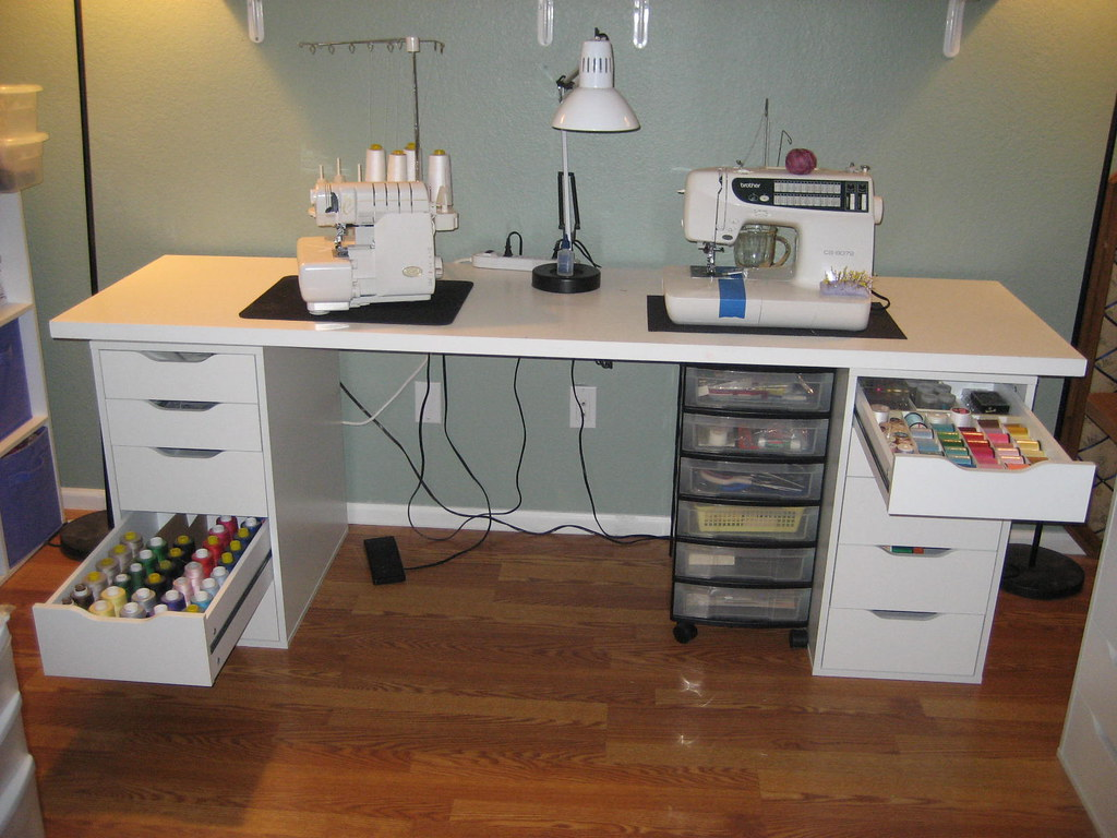 serger thread and sewing thread storage blogged here stit flickr. Black Bedroom Furniture Sets. Home Design Ideas