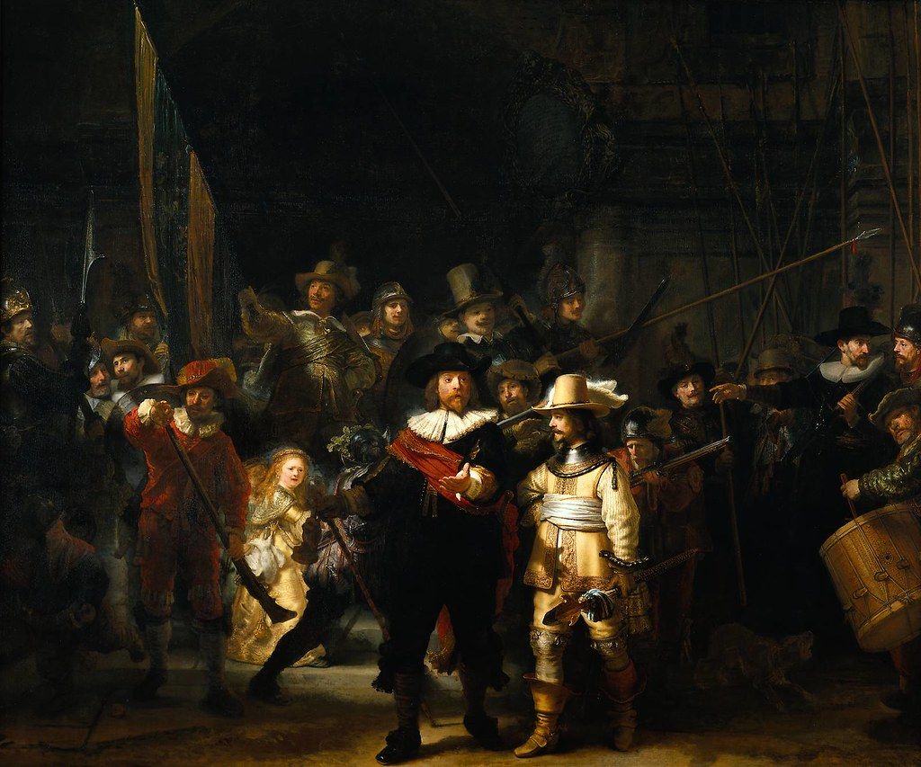 Rembrandt 'Night Watch'' 1642 Oil on canvas   The Night ...