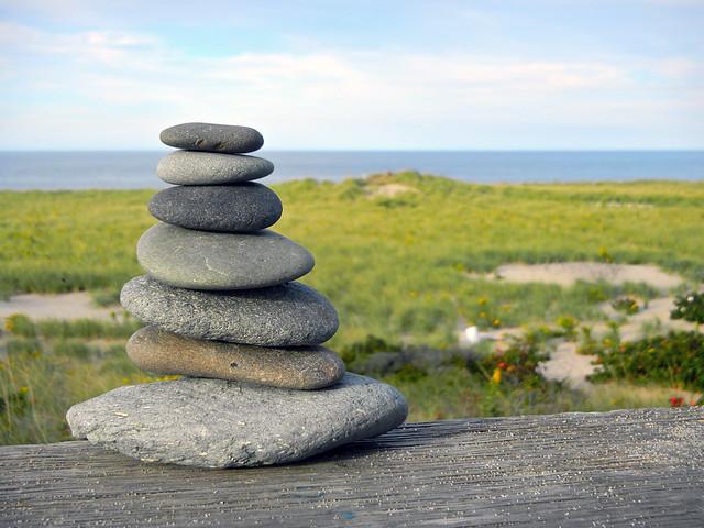 Beach Rock Cairn Provincetown Cape Cod 169 Christopher