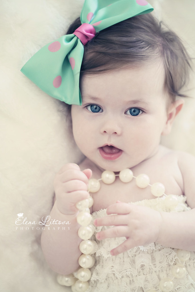 What An Adorable 4M Old Baby Girl  Shes So Cute, So Sw -2200