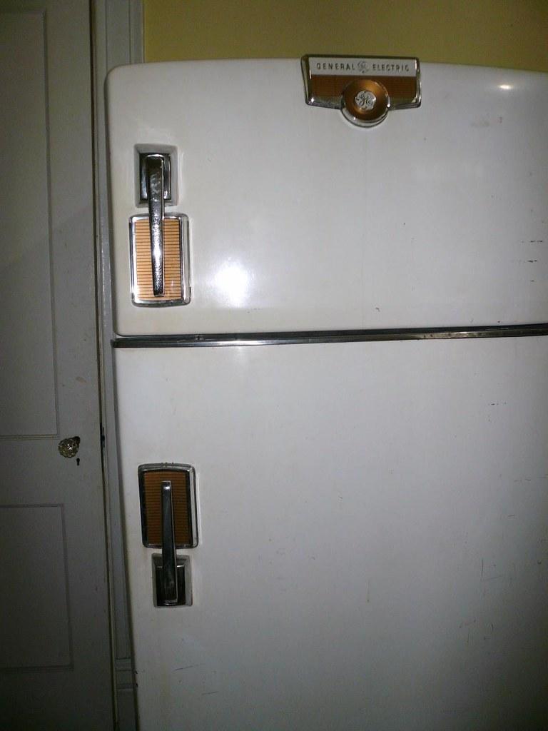 Vintage GE Refrigerator For Sale