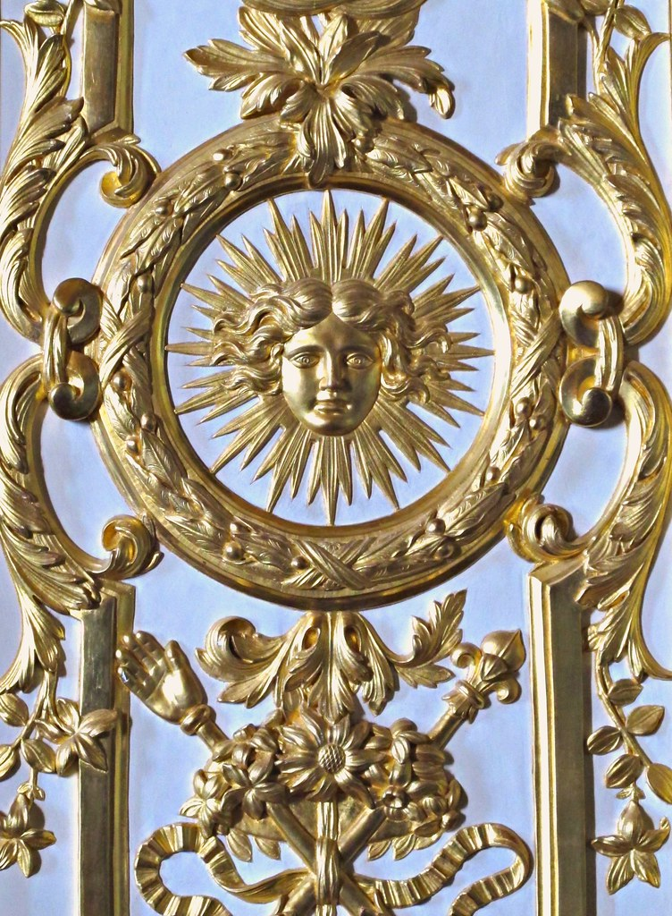 Motif Of The Sun King Scepter And Hand Of Justice Flickr
