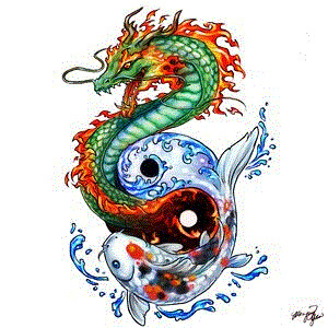 Koi-Dragon-tattoo-yin-yang | mypictures63 | Flickr