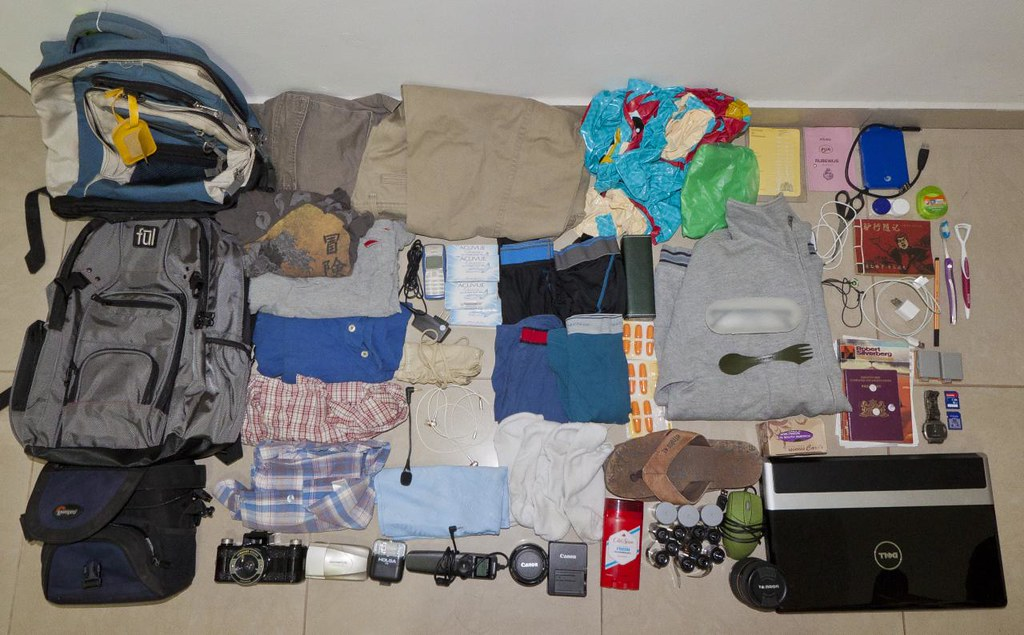 Backpack Contents for 188 days | www.188days.com When I
