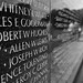 Vietnam Memorial Wall b&w