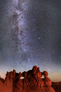 "Stars and Milky Way - Bryce Canyon NP | by IronRodArt - Royce Bair (""Star Shooter"")"