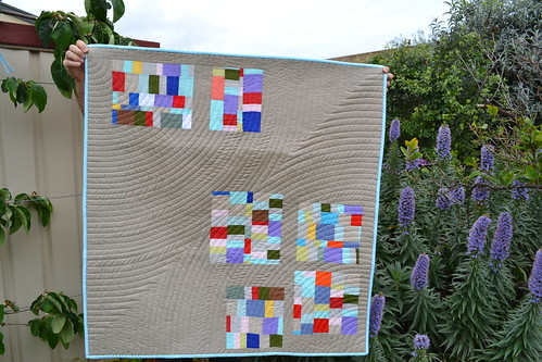 Pixel baby quilt | by sew&sews