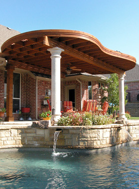 Ordinaire ... Unique Patio Cover Design | By Serenity Custom Pools