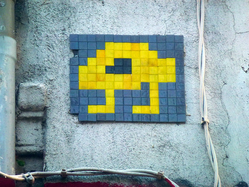 Space Invader - MARS_?? | by paul nine-o