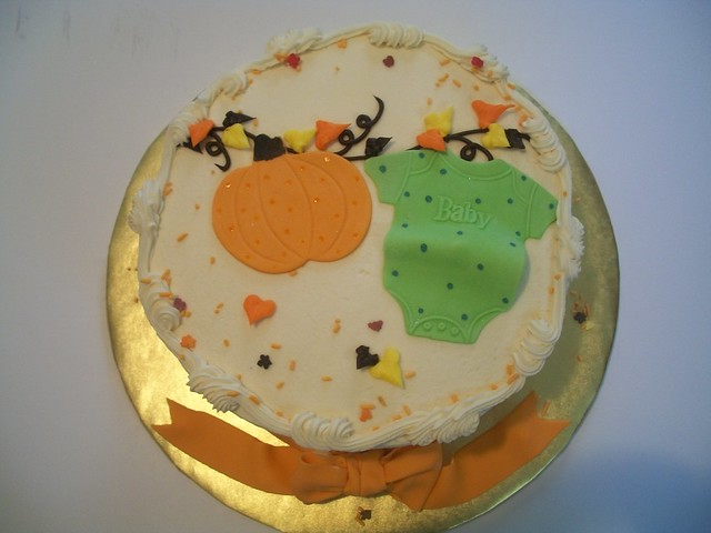 fall baby shower cake flickr photo sharing