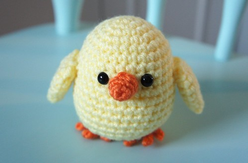 Amigurumi Easter Chick | This is a little Chick that I