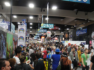 San Diego Comic-Con 2011 - crowds in the Exhbition Hall | by Doug Kline
