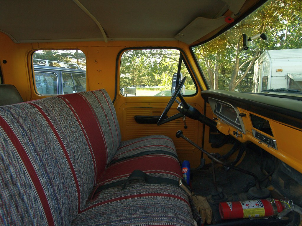 1978 Ford F250 >> 1969 Ford F250, 4x4, 6 Man Cab, Flareside Interior front r… | Flickr