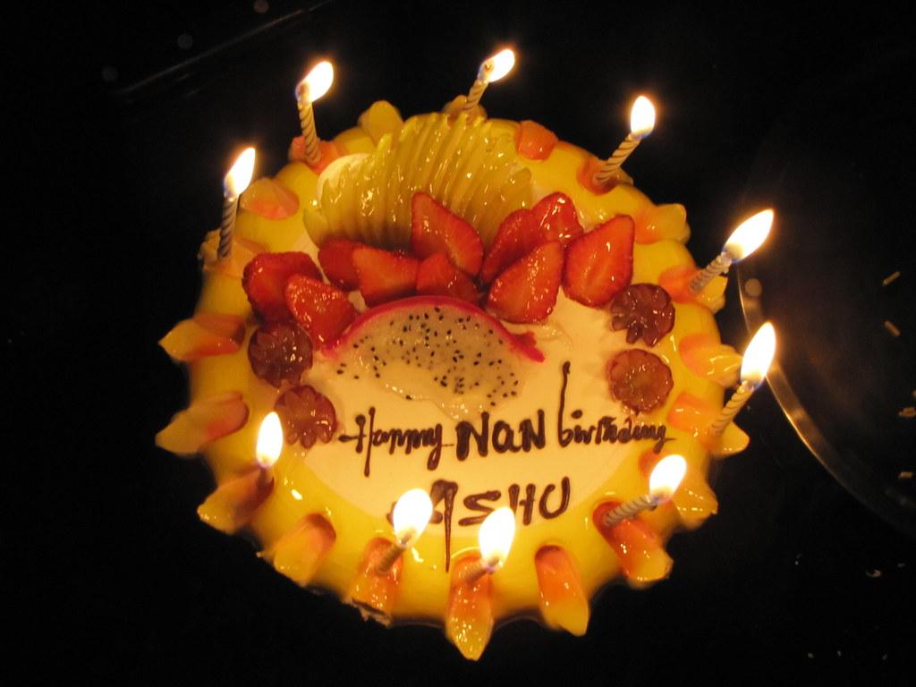 "Happy ""NaN"" Birthday Ashu!"