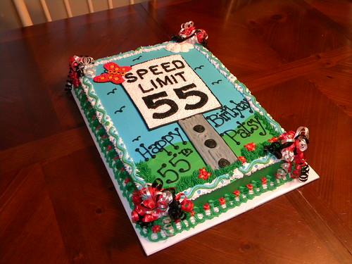 Speed Limit  Cake
