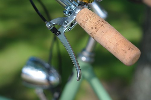 Bella Ciao Superba, Cork Grips | by Lovely Bicycle!