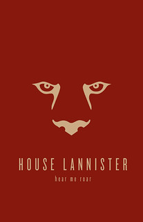 House Lannister Minimalist Poster | by liquidsouldesign