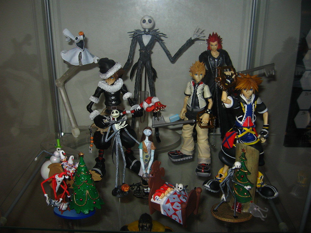 Kingdom Hearts and Nightmare Before Christmas | Blojos | Flickr