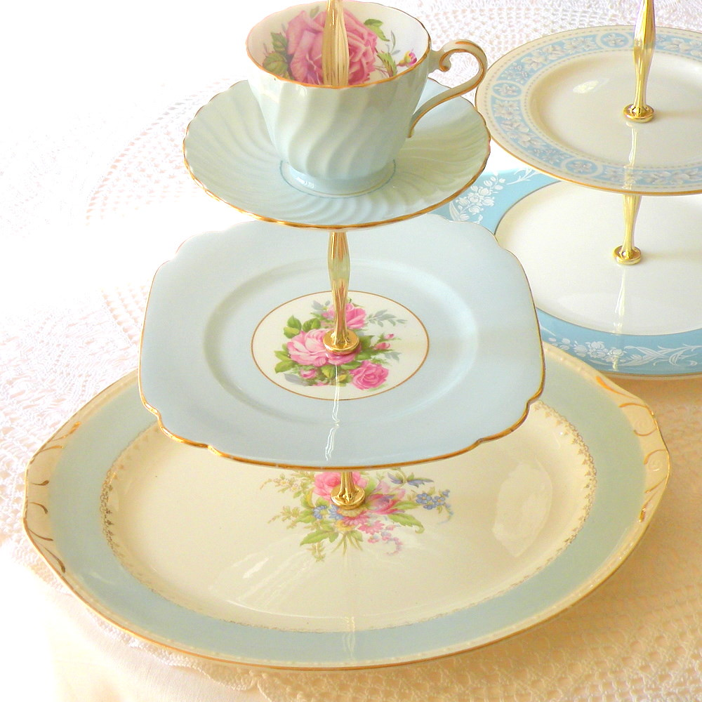 Wedding Cake Stand Plateau