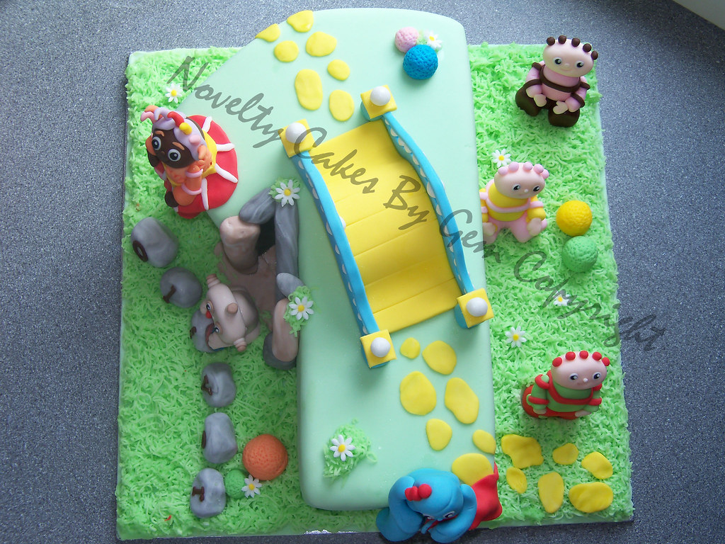 number 1 in the night garden birthday cake with the bridge… | Flickr
