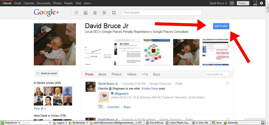 Edit Your Google+ Profile | First step in Google+ SEO is ...
