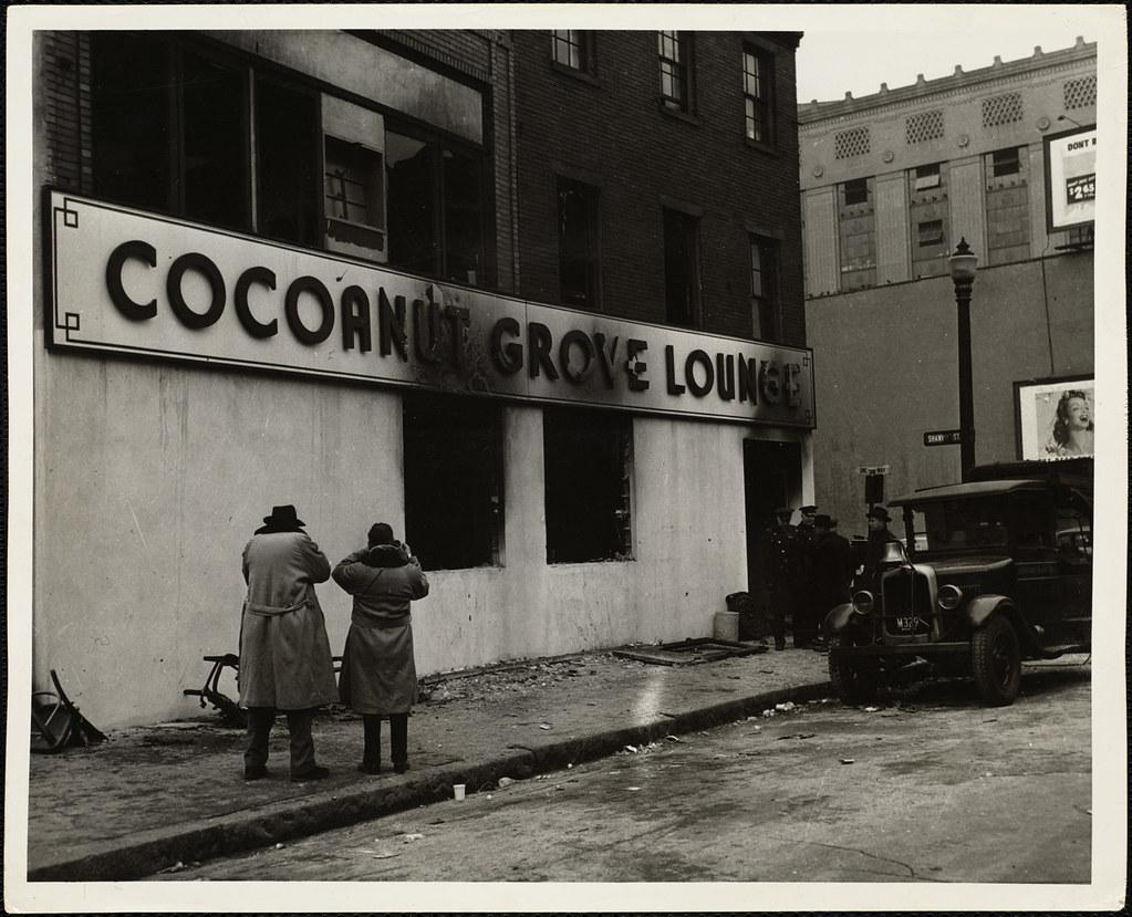 Cocoanut Grove Fire Boston Nov 28 1942 File Name 08