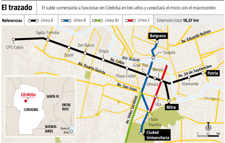 Desde China Timerman Ratifica El Proyecto Del Subte Para Flickr - Argentina subte map