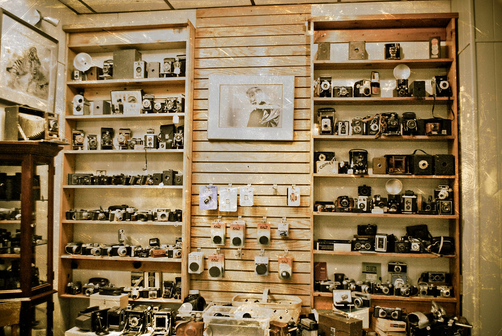 Vintage Camera Shop | Sasmit Shrestha | Flickr