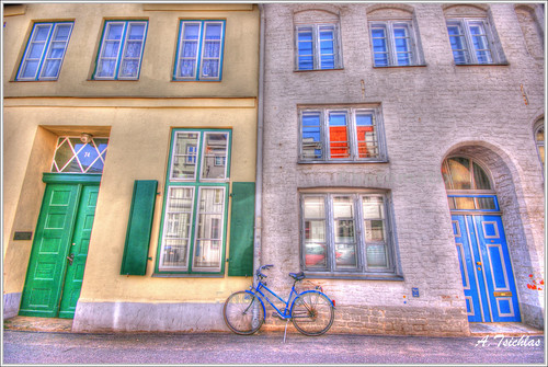The bike  (HDR) | by ATSICHLAS