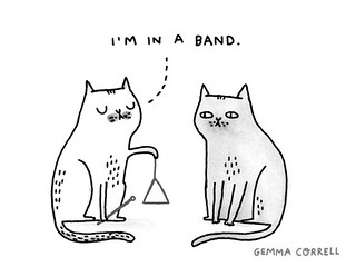 in a band | by gemma correll