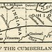 Map of the Cumberland Road (1920)