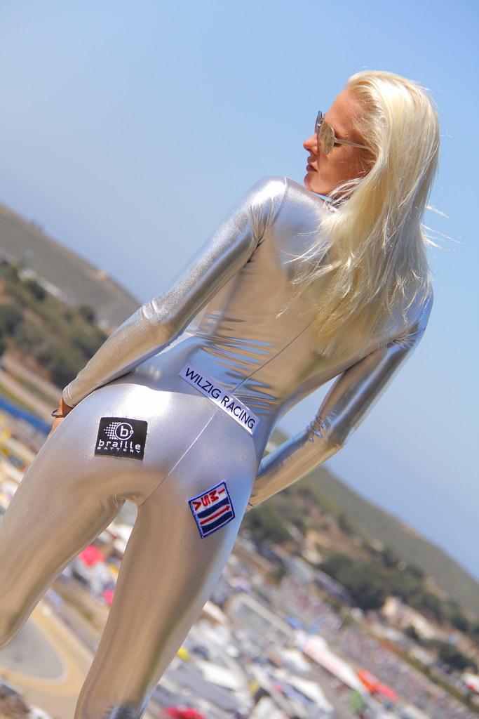 ALMS Grid Girl sexy Beautiful Hot American Le Mans IMSA Li ...