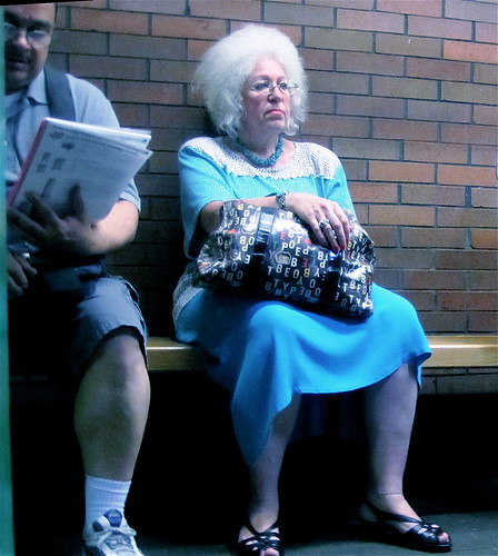 boston prudential center woman waiting for train | by photographynatalia
