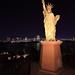 Replica Statue of Liberty in Odaiba,Tokyo Japan