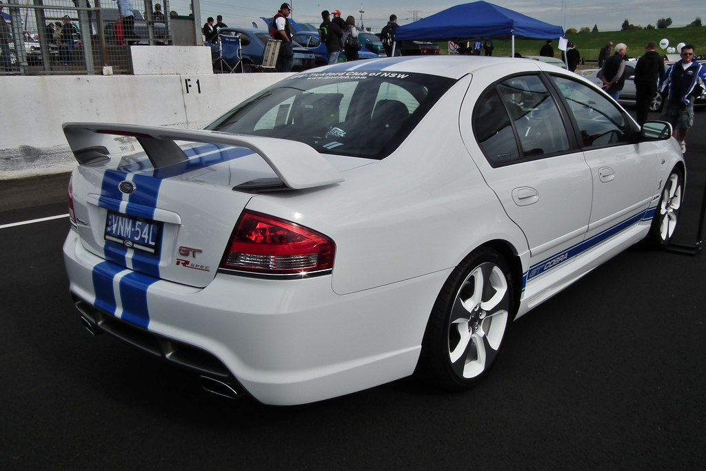 2007 ford fpv bf falcon gt r spec cobra