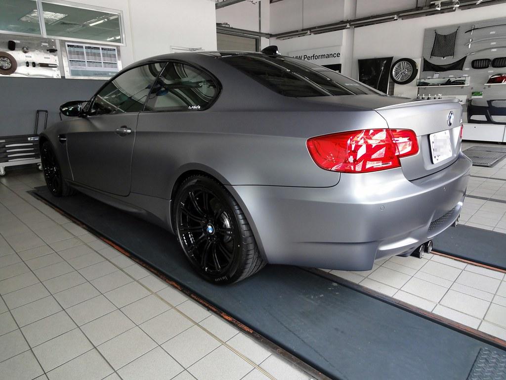 BMW M3 E92 Frozen Grey 2011 | levylieu | Flickr