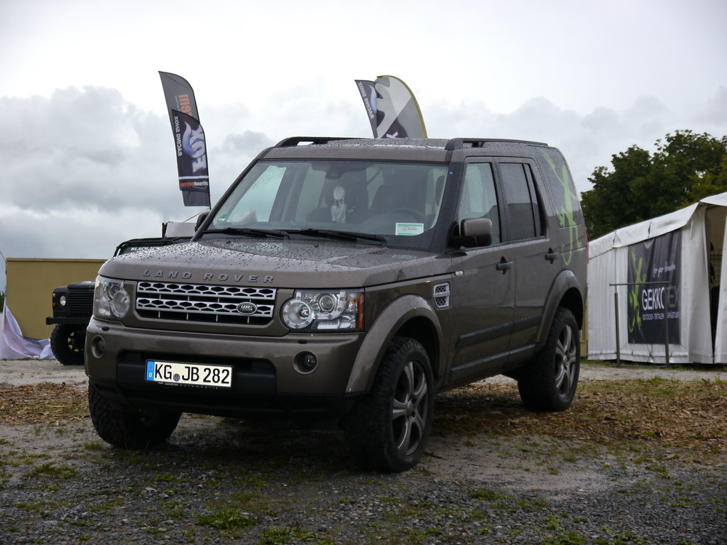 Hire a Land Rover at PB Supercars