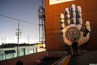 18FT 'BUDDHA PALM' | DTLA | by CRYPTIK MOVEMENT