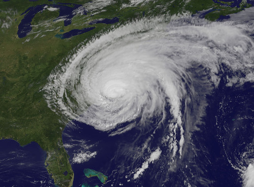 Hurricane Irene Makes Landfall in North Carolina | by NASA Goddard Photo and Video