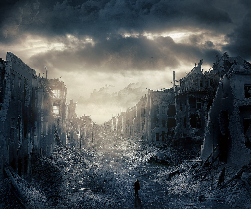 Destroyed City Backgrounds - Wallpaper Cave |Future Destroyed City