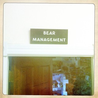 Yellowstone Park headquarters, Bear Management offices. | by xeni