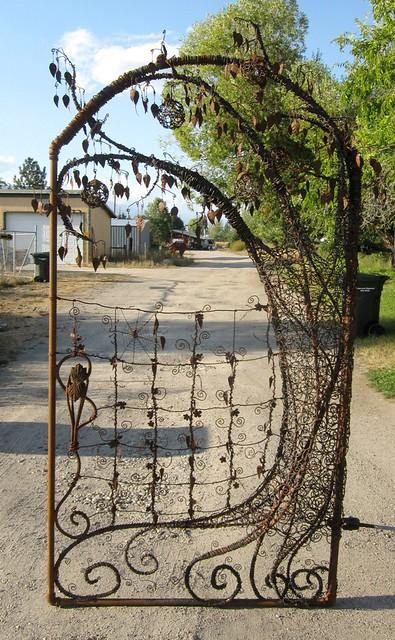 Whimsical Garden Gates Unique Garden Gate