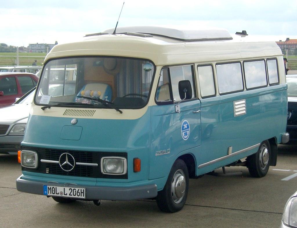 Camper ... Mercedes Benz 206 D | ... gesehen bei der Veranst ... Mercedes Vito