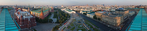 The panorama of morning Moscow | by varlamov