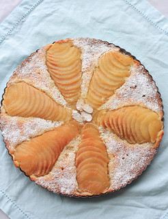 Almond pear tart | by Simona_I